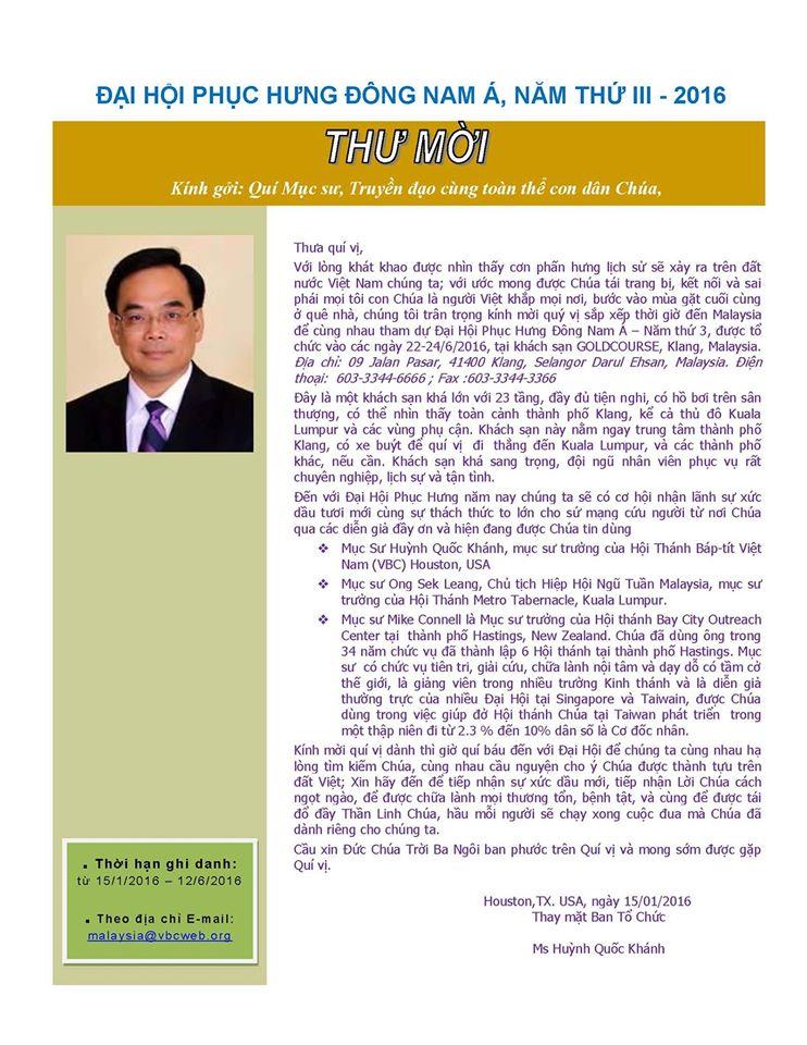 thu moi - dai hoi phuc hung Dong Nam A