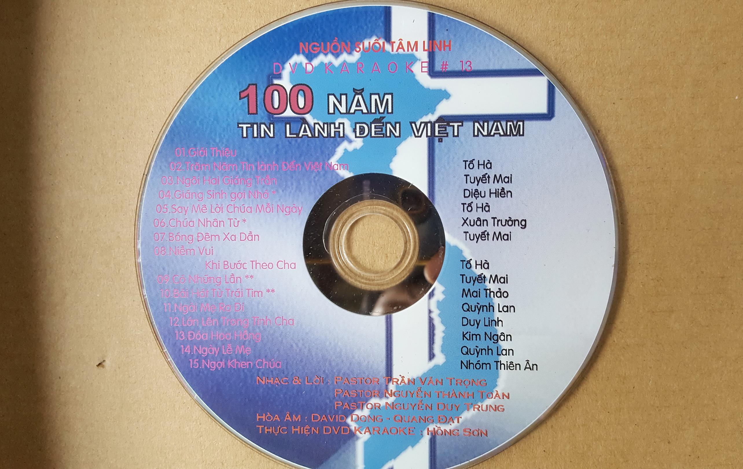 100 nam tin lanh den vn - DVD karaoke