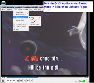 huong dan hat karaoke tren may tinh bang phan mem vlc-2.2.4 10