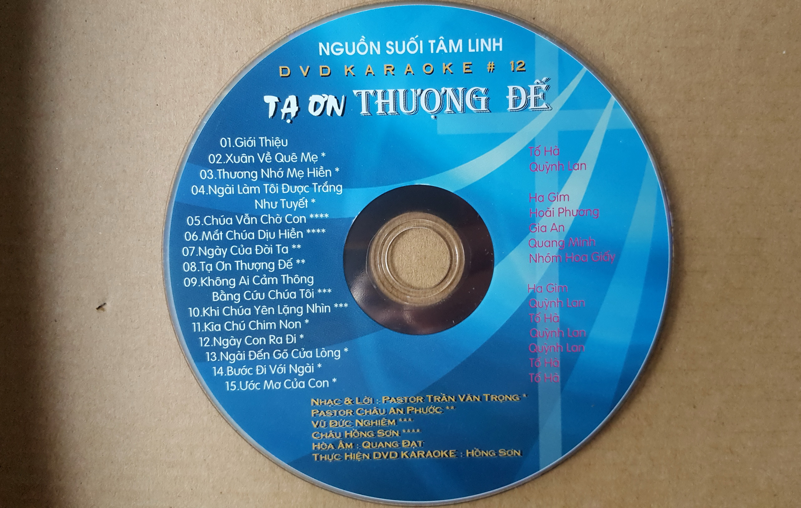 ta on Thuong de- DVD karaoke